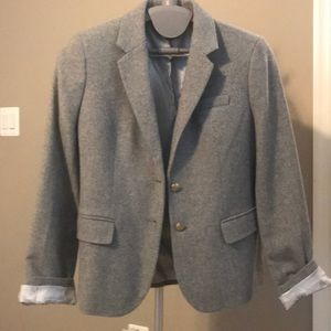 J crew factory classic wool jacket
